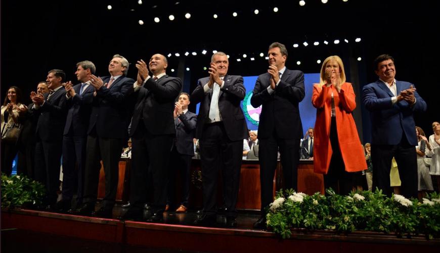 Osvaldo Jaldo Pasaron las elecciones debemos estar juntos y unidos