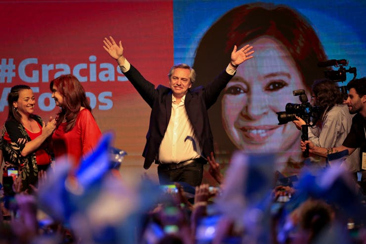 alberto fernadez presidente 1era vuelta gano