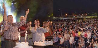 Osvaldo Jaldo   A cargo del Ejecutivo provincial festejó en Lules