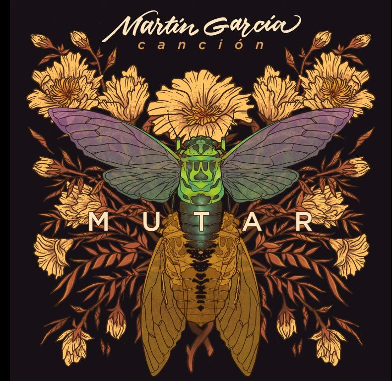 """""""Mutar""""   Martín García presenta su 3er álbum musical 3"""