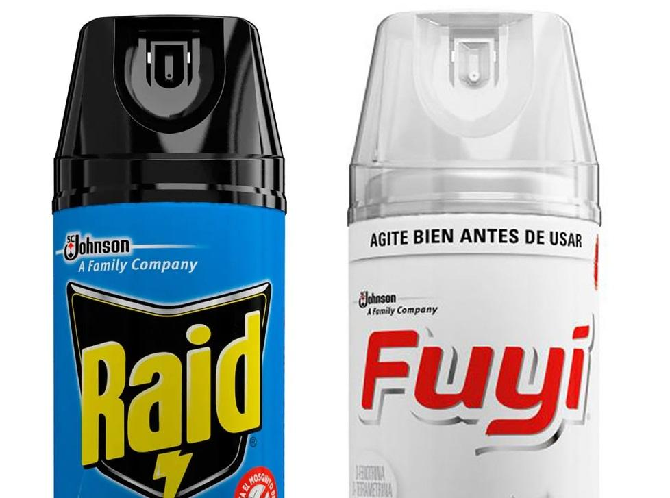 Alerta | Retiran del mercado insecticidas en aerosol de dos reconocidas marcas raid fuji