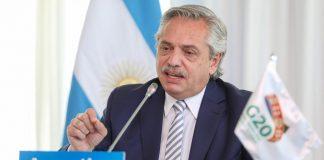 Alberto Fernández expondrá esta tarde en el Foro Económico Mundial de Davos