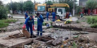 La SAT realiza trabajos de mantenimiento en el Gran San Miguel de Tucumán