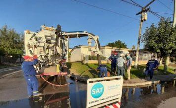 SAT | Continúan los trabajos de reparación en distintos puntos de la provincia