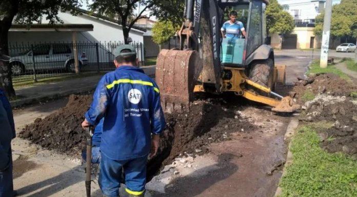 La SAT trabaja en mejoras de agua y cloacas por los barrios