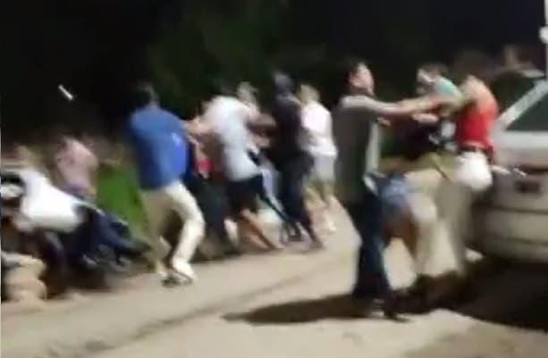 Alderetes | Fiesta VIP terminó en batalla campal entre jóvenes