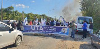 UTA continúa con el paro de colectivos y habrá nuevos piquetes