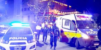 Fiesta clandestina en La Capital: 7 aprehendidos y 2 vehículos secuestrados