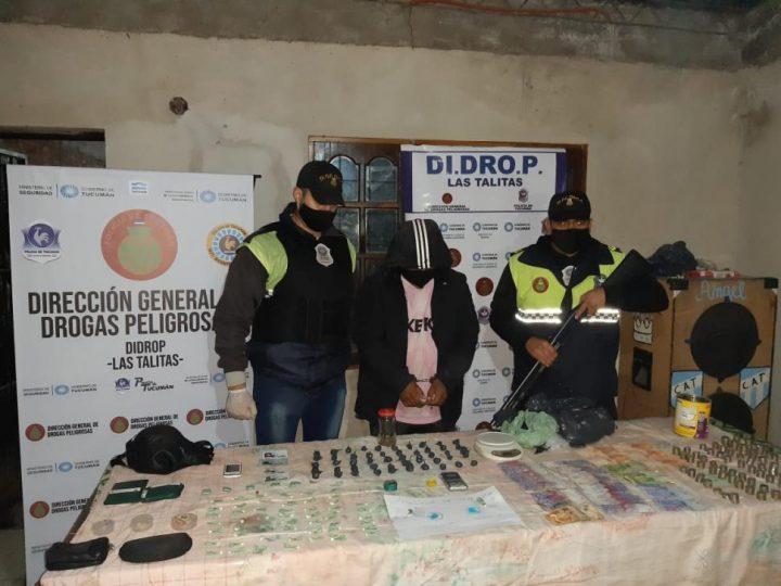 Las Talitas | Secuestran cocaína y marihuana en dos allanamientos