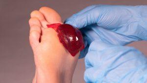 Coágulos externos para curar heridas