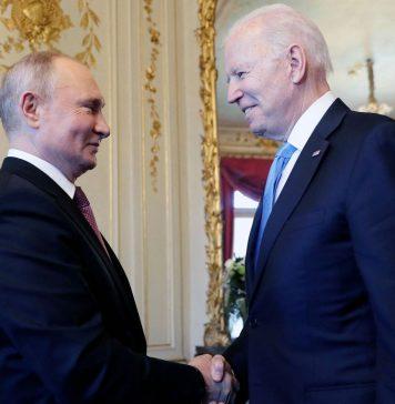 Cumbre_Joe Biden y Vladimir Putin reunidos en Ginebra