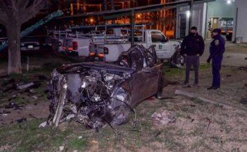 Terrible vuelco | Un cuñado de Agustín Calleri murió junto a tres amigos en un accidente