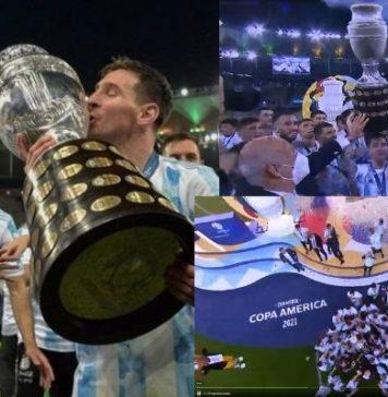 Tabla histórica de títulos de la Copa América_Argentina otra vez en la cima