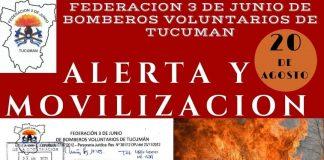 Bomberos Voluntarios | Alerta y movilización en toda la provincia