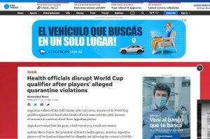 La suspensión de Argentina Brasil