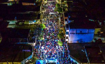 Barrio Floresta | Gran convocatoria tuvo un acto de cierre electoral