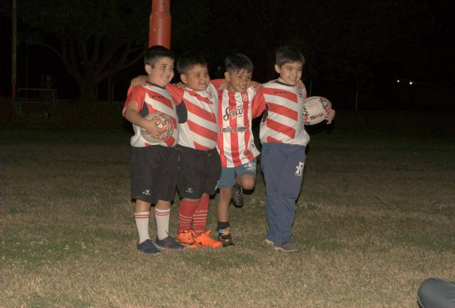 En San Martín apuestan al Rugby infantil