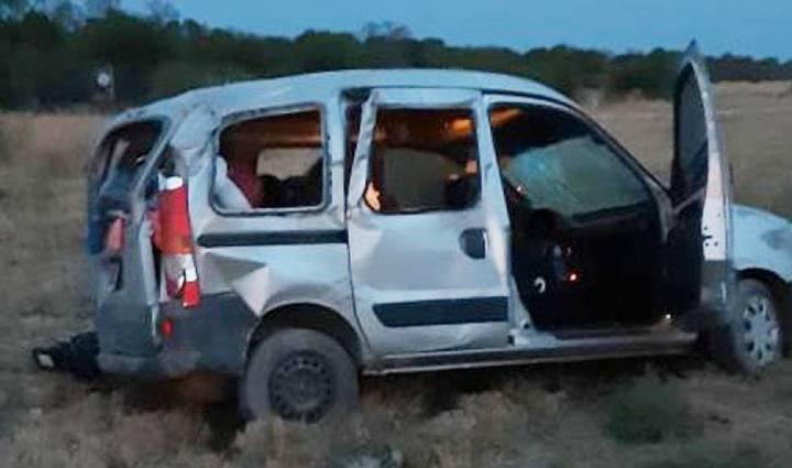 Ruta nacional 157   Familia tucumana protagonizó violento vuelco